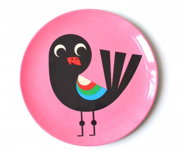 """Teller """"Vogel pink"""" von OMM Design"""