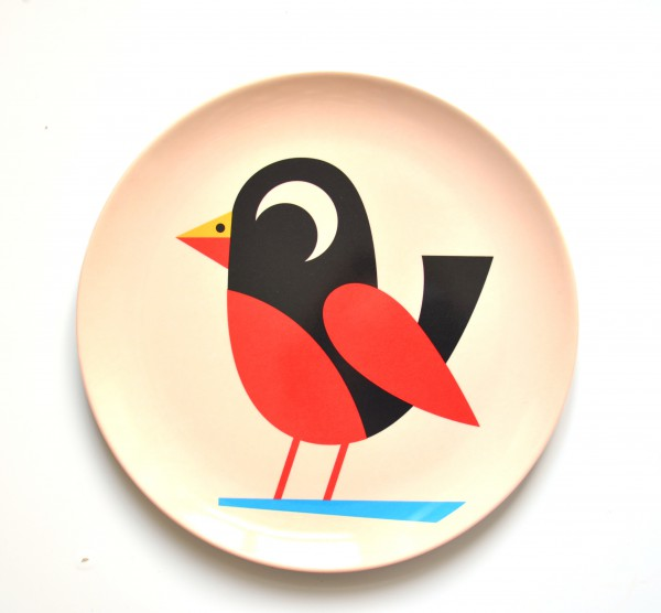 """Teller """"Vogel"""" von OMM Design"""