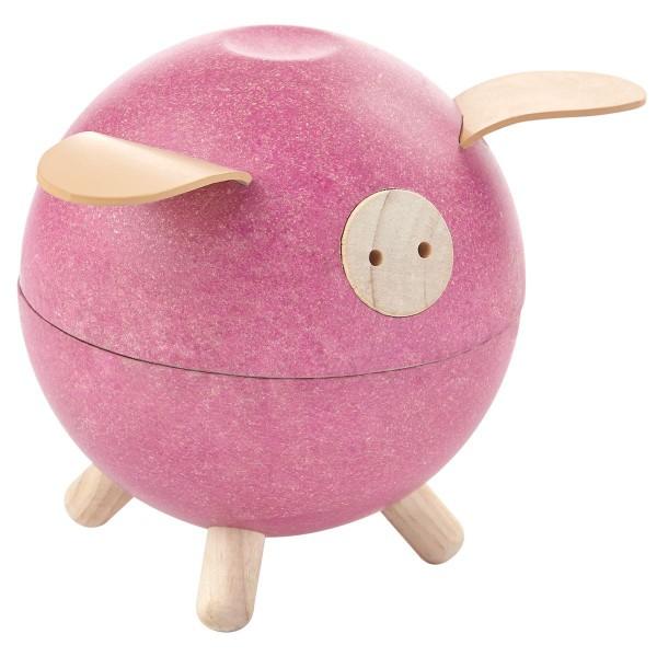 Sparschwein rosa von Plan Toys