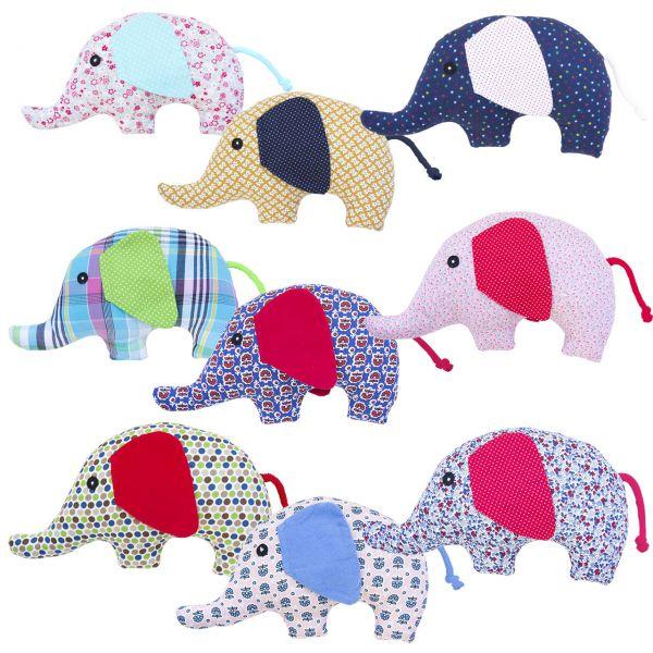 Rassel Elefant Sternchen