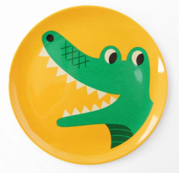 """Teller """"Krokodil"""" von OMM Design"""