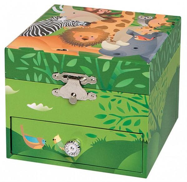 """Spieldose """"Dschungel"""" von Trousselier"""