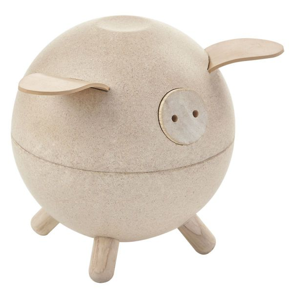 Sparschwein natur von Plan Toys