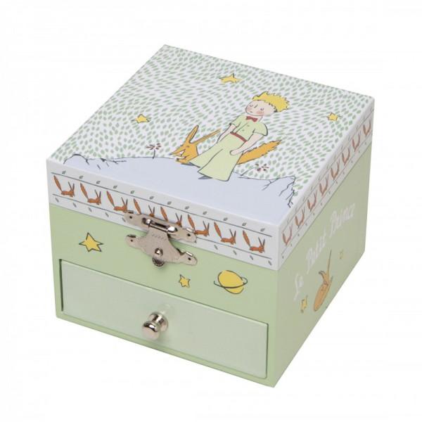 """Spieldose """"kleiner Prinz im Garten"""" von Trousselier"""