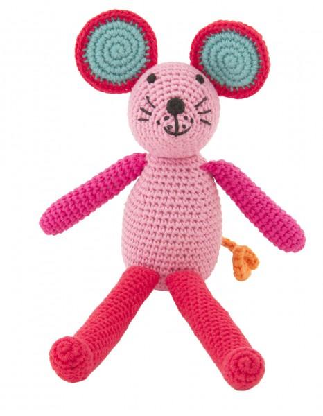 Maus Rassel pink