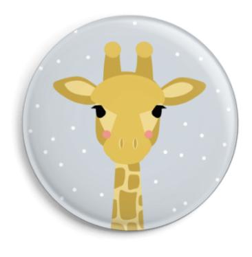 Button Giraffe