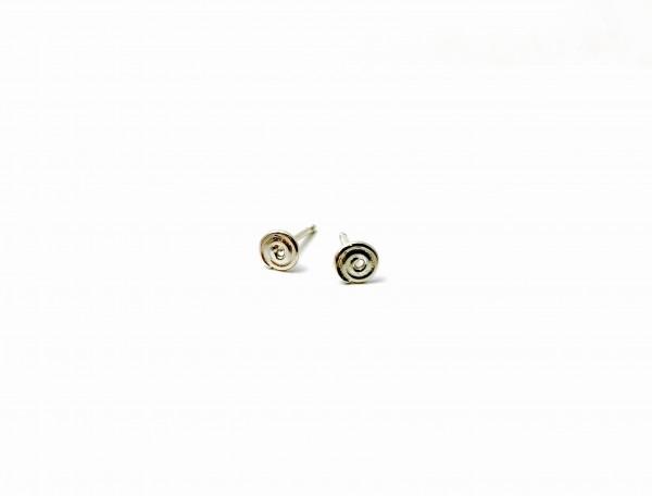 """Ohrringe """"Mini Spiralen"""" Silber"""