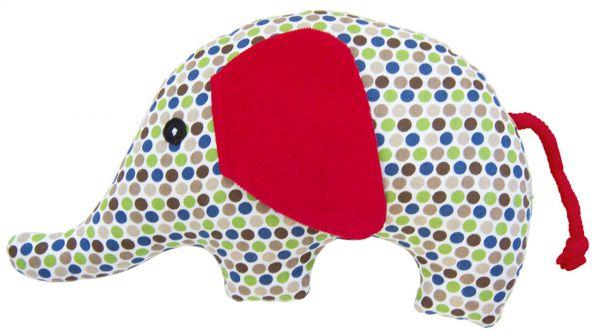 Rassel Elefant gepunktet