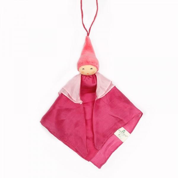 Kleine Wiegenfee rosa Seide von Nanchen