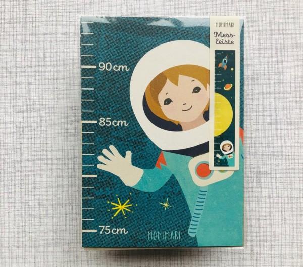 Messleiste Astronaut Ökodruck von Monimari