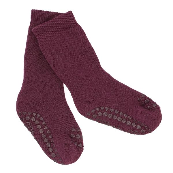 Non Slip Socks - Stoppersocken- Dusty Rose 3-4 Jahre von GoBabyGo