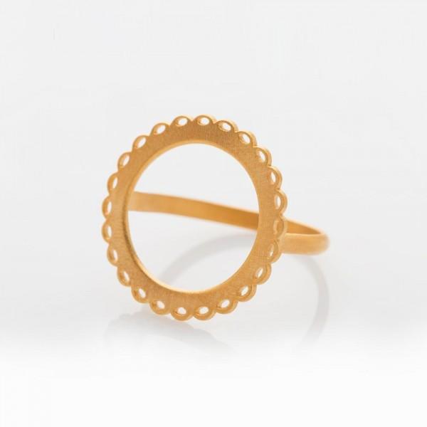 Mademoiselle Gold Ring L von Prigipo