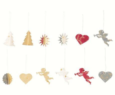 Christmas Papier Ornamente