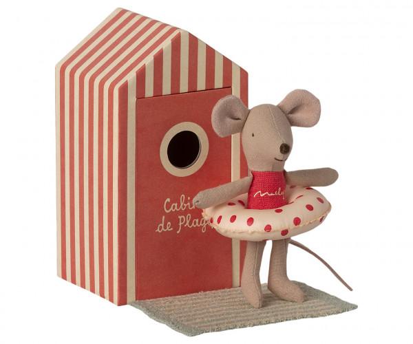Beach Mouse little sister in Cabin von Maileg