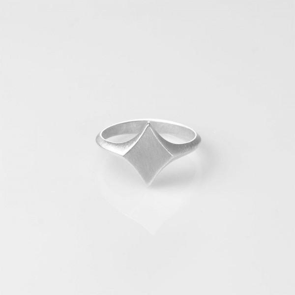 "Ring ""Diamond King"" Silber Größe 56 von Prigipo"