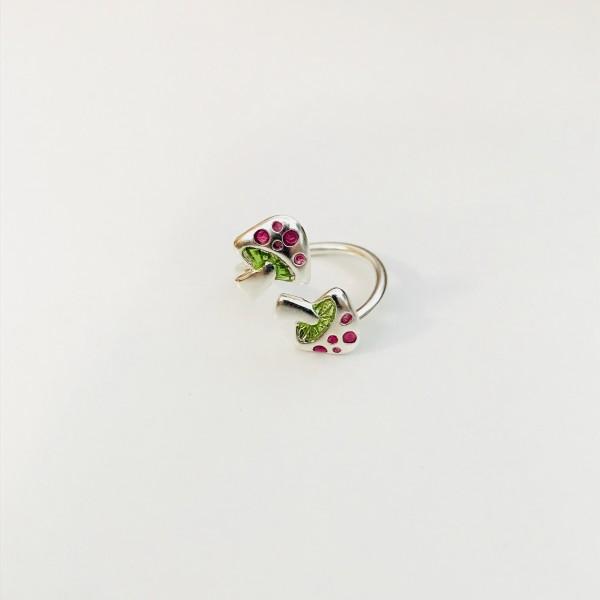 "Ring für Kinder ""Pilz"" lila"