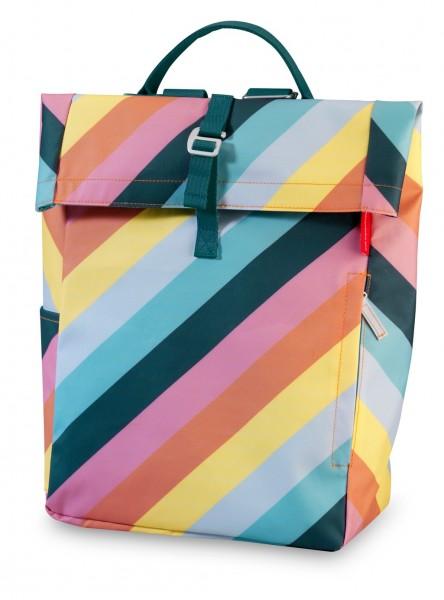 """Rucksack Flip """"Stripe Rainbow"""" für Große"""