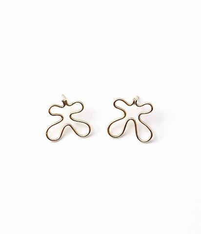 """Ohrringe """"Schmetterlinge"""" Gold"""
