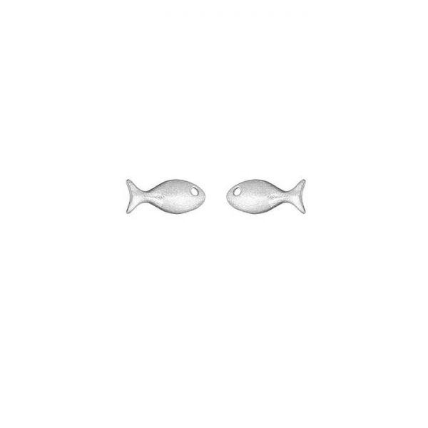 """Ohrringe """"Fisch"""" Silber von Onirolithi"""