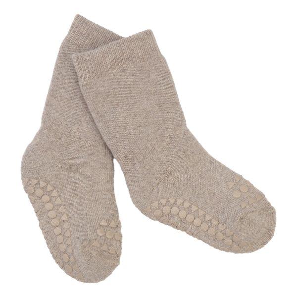 Non Slip Socks - Stoppersocken- Sand 3-4 Jahre von GoBabyGo