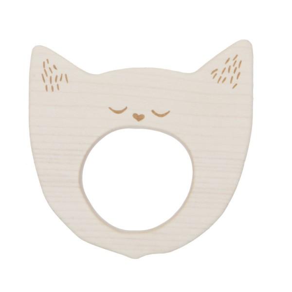 """Beißring """"Katze"""" von Wooden Story"""
