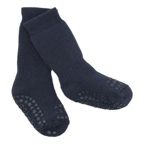 Non Slip Socks - Stoppersocken- Navy Blue 1-2 Jahre von GoBabyGo