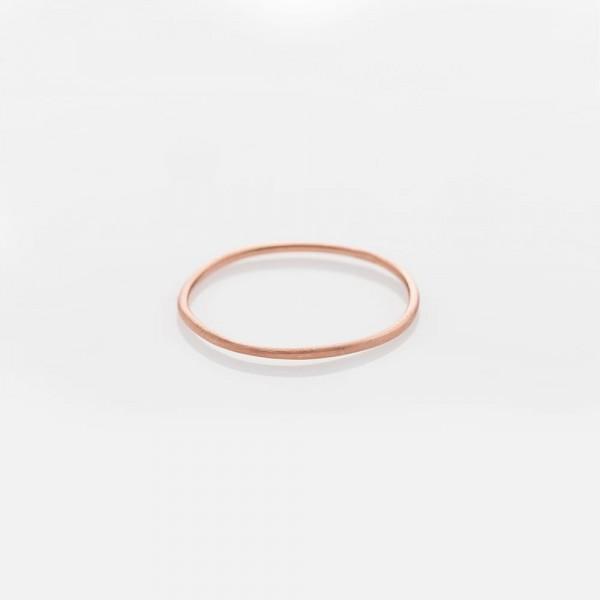 """Ring """"WIRE"""" Rosé Größe 52 von Prigipo"""