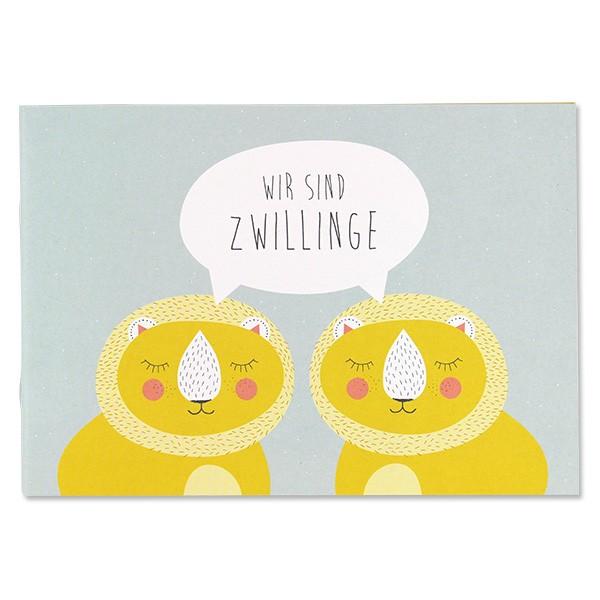 """Büchlein """"Wir sind Zwillinge"""" von Ava&Yves"""