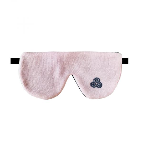 Premium Bio Schlafmaske Sommernachtstraum Pink von Lenz Schlaf Projekte