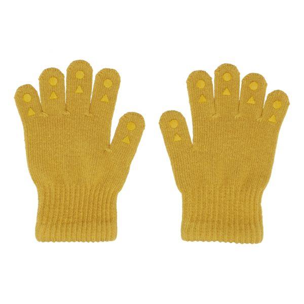 Grip Gloves Kinderhandschuhe mit Gumminoppen Mustard 1-2 Jahre GoBabyGo