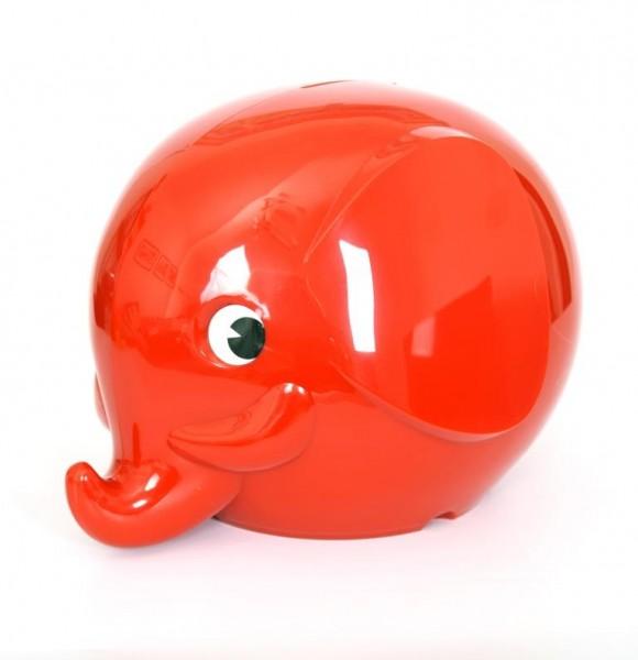 Spardose Elefant Rot von Omm Design