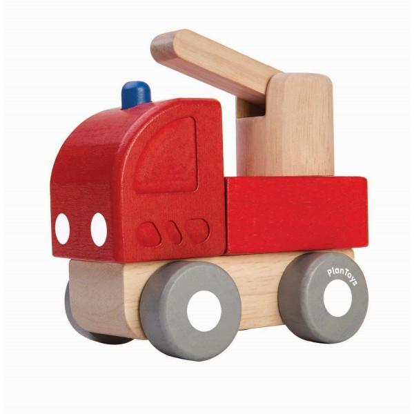 Mini Feuerwehr rot von Plan Toys