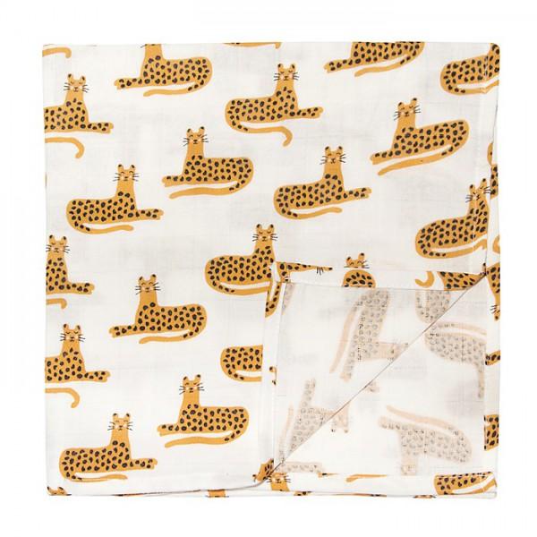 Mulltuch Cheetah 120 x 120 cm von trixie
