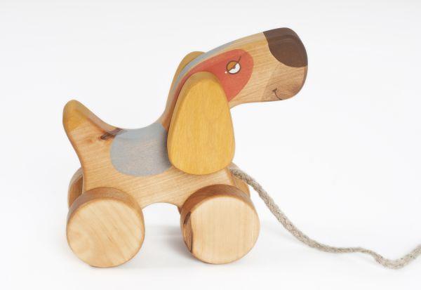 """Hund """"Terrier"""" zum Nachziehen von Friendly Toys"""