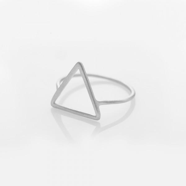 """Ring """"Triangel"""" Silber Größe 51 von Prigipo"""
