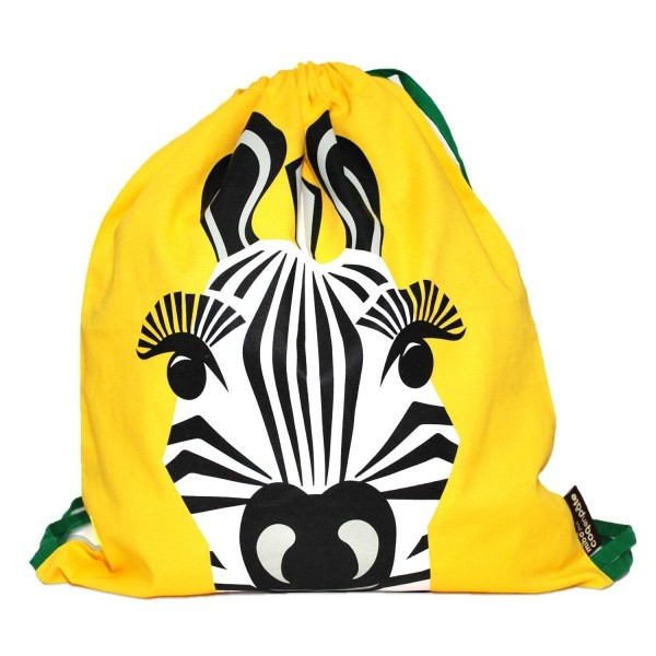 Turnbeutel MIBO Zebra - gelb BIO