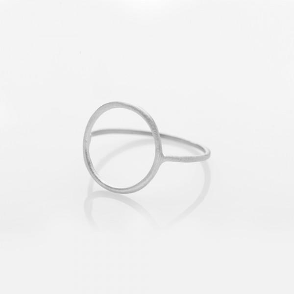 """Ring """"Circle"""" Silber Größe 49 von Prigipo"""