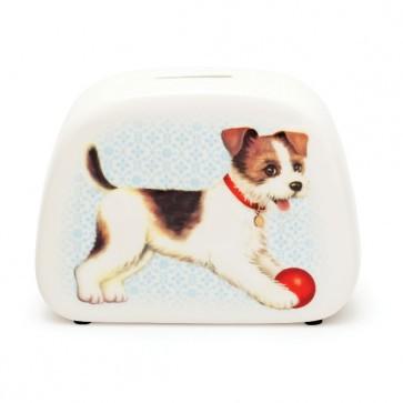 """Spardose """"Hund"""" aus Porzellan von Kitsch Kitchen"""