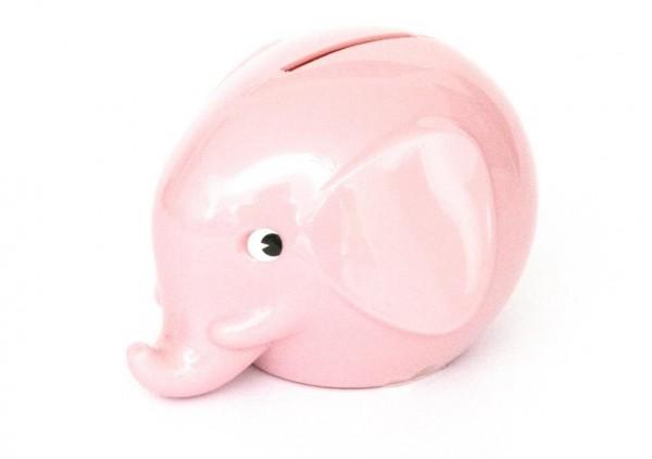 Spardose Elefant Dusty Pastel Pink von Omm Design
