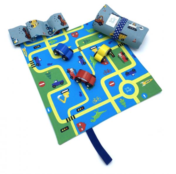CarPet Autospiel Fahrzeuge für unterwegs von tiny magic
