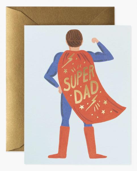 """Klappkarte """"Super Dad"""" von RIFLE PAPER"""