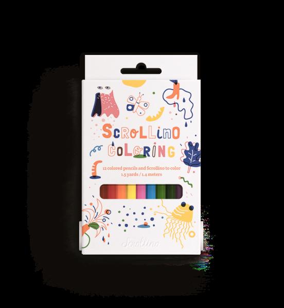 Scrollino Ausmalen - Coloring