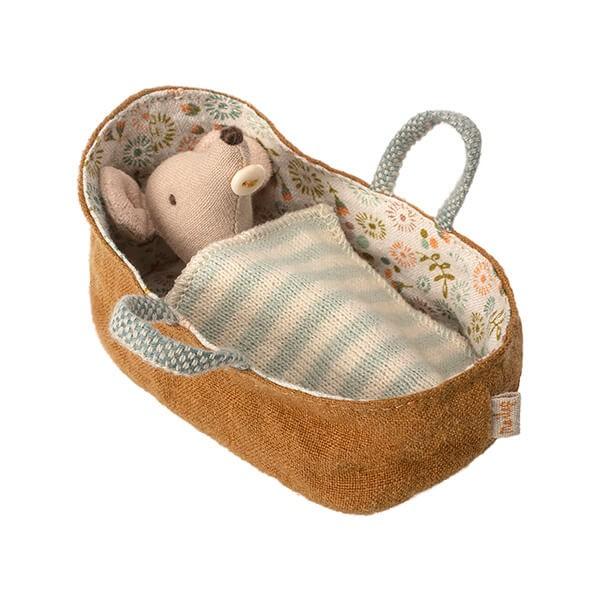 Maileg Tragetasche mit Maus Baby
