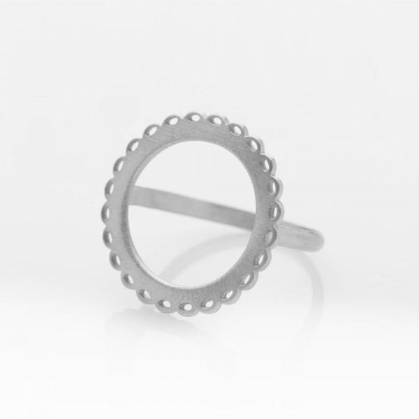 Mademoiselle Silber Ring M von Prigipo