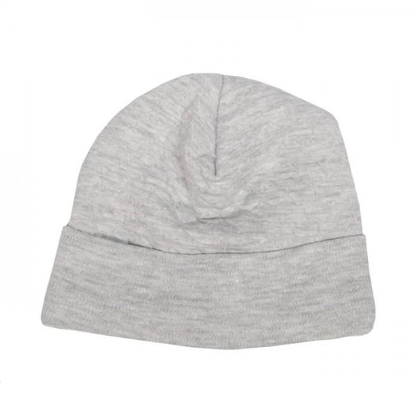 """Mütze für Neugeborene in """"Granit grey"""" von trixie"""
