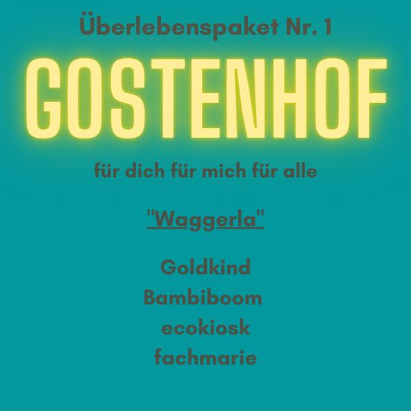 Überlebenspaket Gostenhof Nr.1 Waggerla von Goldkind