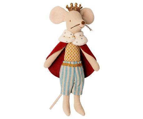Kleine Maus König von Maileg