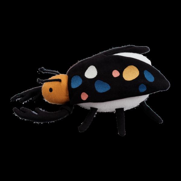 Stofftier und Rassel Bertil der Käfer von Fabelab