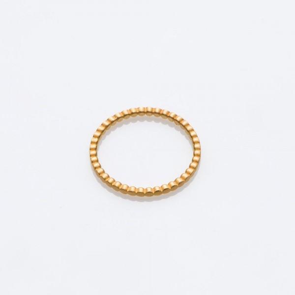 "Ring ""BLOB"" golden 52 von Prigipo"