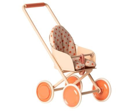 Maileg Stroller Micro soft coral